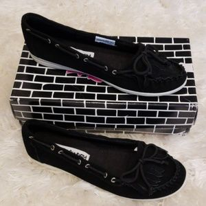 Dirty laundry chase me women flat split suede 10